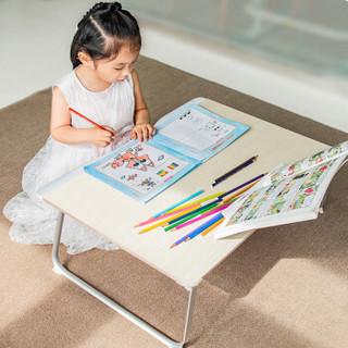 赛鲸 笔记本电脑桌 床上桌 读书架 宿舍可折叠懒人桌子 学生学习飘窗书桌 手机平板支架 大桌面 G6学习版