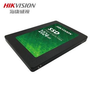 HIKVISION 海康威视 HS-SSD-C160 固态硬盘 1TB 黑色