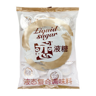 中国台湾进口 恋牌 液糖 液态复合调味料 咖啡伴侣 果糖球  200ml(10ml*20)/袋