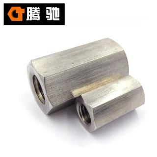 腾驰 CT 316 六角厚螺母 GB6175 不锈钢六角加长加厚螺母 M20-2.5(50支/盒)
