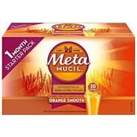 银联爆品日: Metamucil 吸油纤维素膳食纤维粉 香橙味 30袋