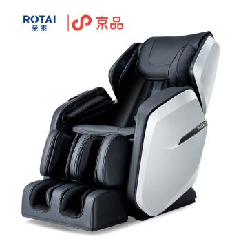 荣泰ROTAI RT6010按摩椅家用电动全身太空豪华舱按摩椅精选推荐 黑色