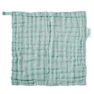 babycare婴儿纱巾小方巾 新生宝宝洗脸口水巾儿童纯棉手帕绢6条装  5282