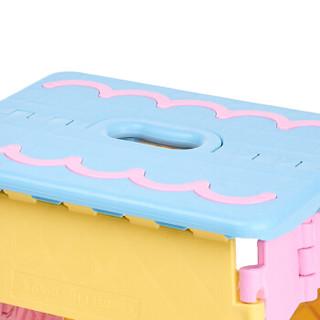 沃特曼Whotman 折叠凳子加厚便携式钓鱼椅手提小板凳塑料马扎写生椅 自驾游装备WD3113