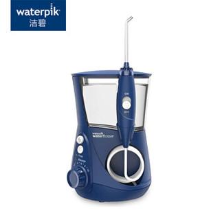 洁碧(Waterpik)冲牙器 水牙线 洗牙器 洁牙器 家用台式水瓶座设计师系列  深海蓝 WP-663