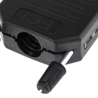 RS Pro欧时 15 路 直 黑色 尼龙 D-sub 连接器底壳 86303638BLF