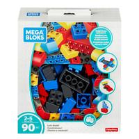 MEGA 美高 儿童积木中颗粒90片 自由拼搭套装 FLY44 *2件