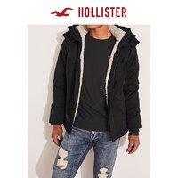 Hollister2019年冬季新品仿羊羔绒内衬夹克 男 302093-1