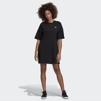 adidas 阿迪达斯 Trefoil DV2607 女款圆领套头裙子 *2件