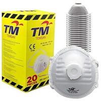 Temsan 防尘面罩 20 件装 - FFP1 - EN 149:2001