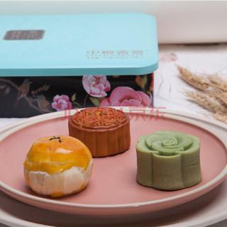 中粮香雪 COFCOXIANGXUE 繁华映月月饼礼盒 中秋礼品广式月饼糕点中秋节月饼440g