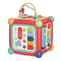babycare 六面盒多功能积木 早教益智玩具