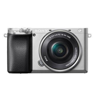 SONY 索尼 Alpha系列 Alpha 6100L APS-C画幅微单数码相机 标准套机 16-50mm 银色