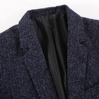 罗蒙(ROMON)西服男时尚商务休闲正装 9XF971902 上青 50