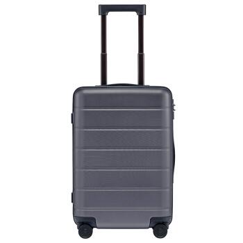 小米(MI)行李箱拉杆箱 男女万向轮旅行箱登机箱 20英寸 灰色