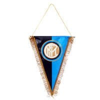 国际米兰俱乐部官方Logo队旗-蓝黑标准款