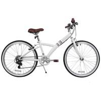 自行车运动6级变速青少年儿童24寸自行车童车 BTWIN POPLY 300