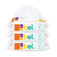 FIVERAMS 五羊 婴儿芦荟手口湿巾 80片×3包 *5件