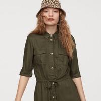 H&M DIVIDED HM0746648 女士衬衫裙