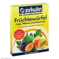 ZIRKULIN 健康促进消化水果丁 12块/盒 *3件