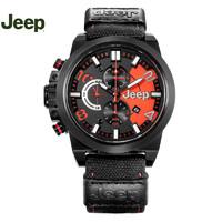 吉普(Jeep) 手表 男士牧马人户外大表盘男表吉普个性防水石英表JPW60903