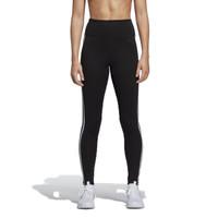 ADIDAS 阿迪达斯 女子 训练系列 D2M HR L 3S 运动 运动长裤 DU2040 L码