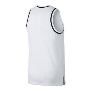耐克NIKE 男子 篮球文化背心 NK DRY CLASSIC JERSEY 运动背心 AQ5592-100白色L码
