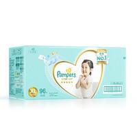 Pampers 帮宝适 一级系列 婴儿纸尿裤 XL号 96片 *2件