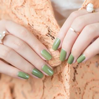 SweetColor无味环保指甲油 牛油果绿12ml(抹茶绿 清新绿色 流行百搭款)
