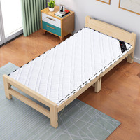L&S 床垫棕垫 单人床垫子硬棕垫3E环保椰棕垫 5cm白针织1.9*1m