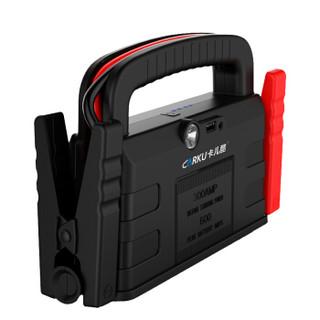 卡儿酷(CARKU)汽车电瓶打火应急启动电源 车用搭电宝充电宝 车载电瓶点火充电器 移动电源启动宝 电蝎子V代