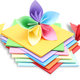 积米 彩色手工折纸 12*12cm 100张 1.9元包邮(需用券)