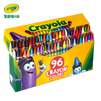 crayola 绘儿乐 儿童蜡笔 16色
