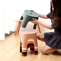 葛诺 家用塑料板凳 215*195mm 儿童款 (3色可选)