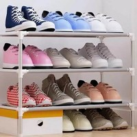 乐活时光 简易多层鞋架 3层 60cm