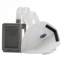 魔力泡 BP120 防雾霾口罩  随身空气净化器户外运动防尘防烟净化过滤口罩灰色