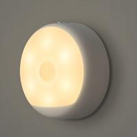 Yeelight 小米生态链品牌 充电感应夜灯 光控LED 小夜灯 智能人体自动感应灯 2700K 其他 小于5W