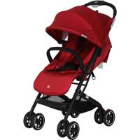 gb好孩子 婴儿推车 宝宝儿童手推车 轻便折叠可坐可躺伞车 小巧舒适避震  红色 D678-H-S405RR