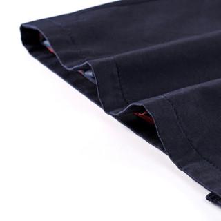 尚都比拉(Sentubila)2019新款OL通勤风衣女收腰直筒中长款女士修身外套 193F0220975 藏蓝色 L