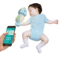 费雪 智能安抚海马 婴幼儿音乐安抚哄睡毛绒玩具 粉色 蓝色 0岁以上