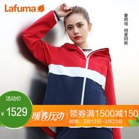 法国LAFUMA乐飞叶冲锋衣女士2020春季户外新品夹克风衣外套 LFJA0AS95 红色R2 165/84A(38)