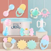 婴儿手摇铃玩具 宝宝益智牙胶