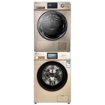 LittleSwan 小天鹅  TG100S21WDG TH90SH02WG 洗烘组合套装 10kg变频滚筒洗衣机 9kg烘干机