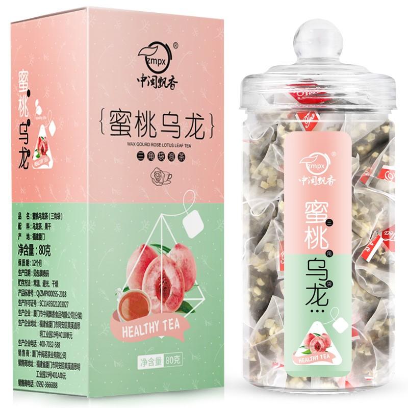 zmpx 中闽飘香 蜜桃乌龙茶 80g