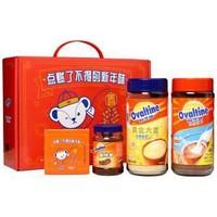 Ovaltine 阿华田 + 泰迪熊 可可面包酱 营养早餐可可粉麦乳精冲饮组合