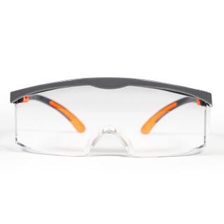 霍尼韦尔(Honeywell)护目镜120310 S200G活力橙 透明镜片 男女防风 防沙 防尘 防雾 骑行眼镜