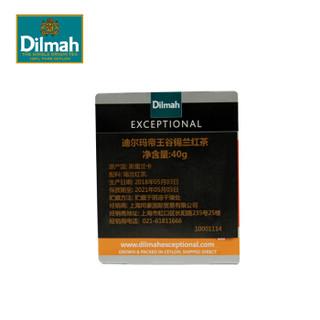 迪尔玛 Dilmah 帝王谷锡兰红茶 E系列三角丝绸茶包 原装进口茶叶 送礼佳品 40g(2g*20包)