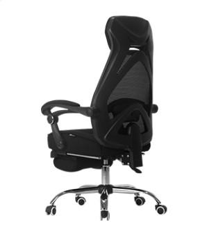 Hbada 黑白调 HDNY117 人体工学电脑椅 黑色 升级版