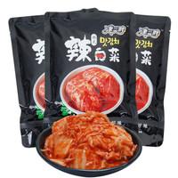 韩式泡菜正宗辣白菜 450g*3袋