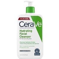 银联爆品日、凑单品:CeraVe Hydrating Cleanser 低泡温和洁面乳 473ml